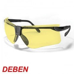 DEBEN SHOOTING SAFETY GLASSES YELLOW
