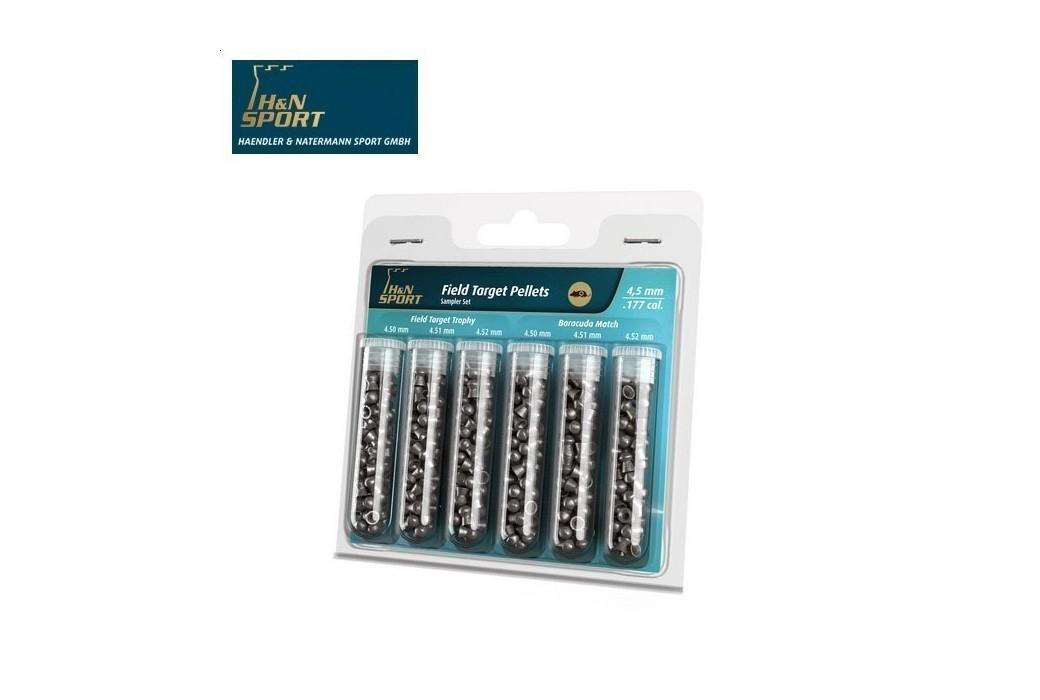 BALINES H & N PACK FIELD TARGET 4.5mm (.177) 240PCS