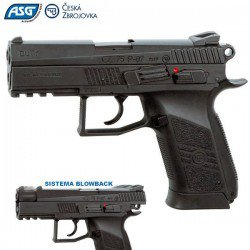 PISTOLA ASG CZ 75 P07 DUTY BLOWBACK