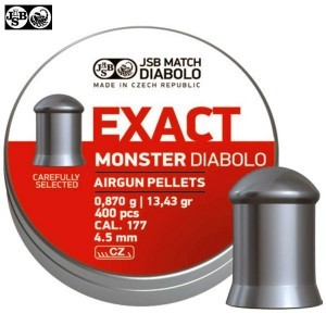 BALINES JSB EXACT MONSTER ORIGINAL 400pcs 4.52mm (.177)