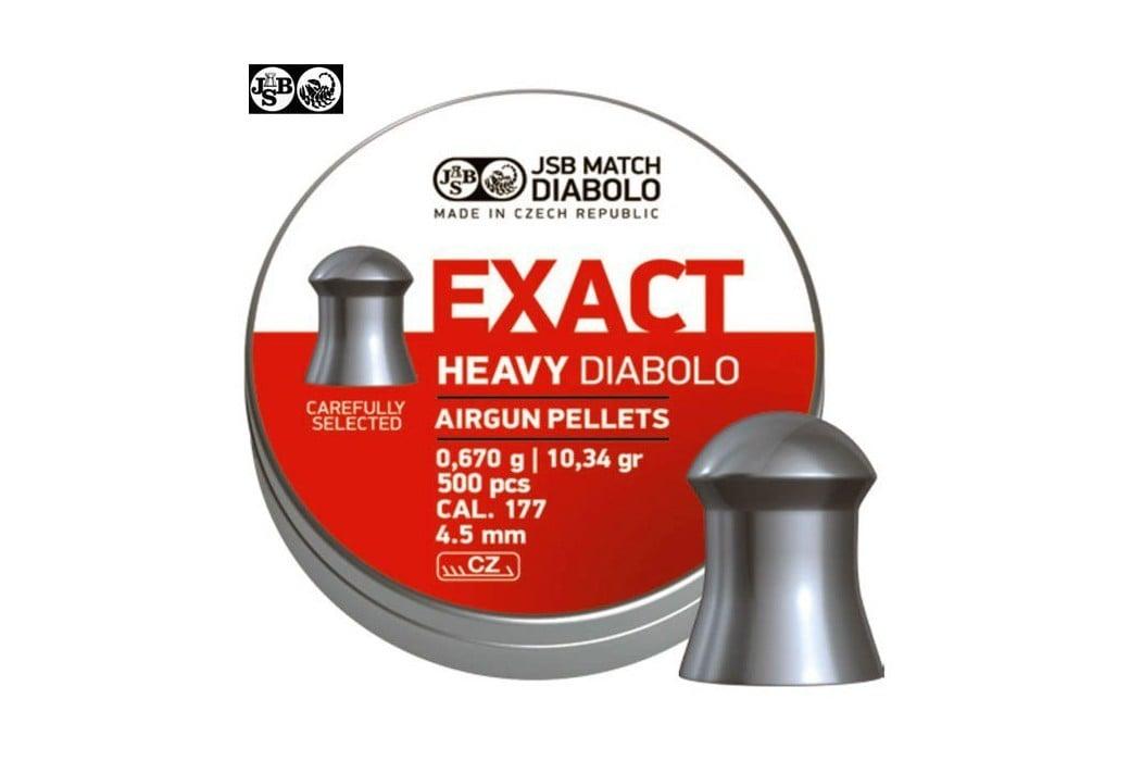 CHUMBO JSB EXACT HEAVY ORIGINAL 500pcs 4.52mm (.177)