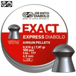 BALINES JSB EXACT EXPRESS ORIGINAL 500pcs 4.52mm (.177)