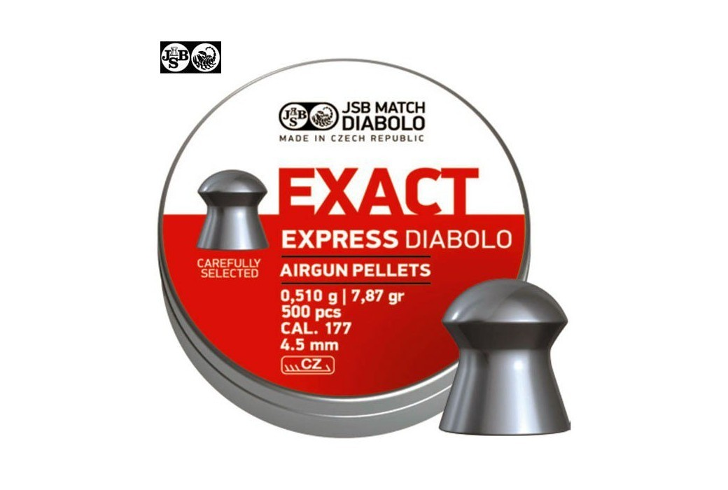 Air gun pellets JSB EXACT EXPRESS ORIGINAL 500pcs 4.52mm (.177)