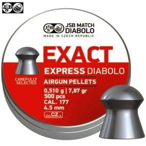 BALINES JSB EXACT EXPRESS ORIGINAL 500pcs 4.52mm (.177)