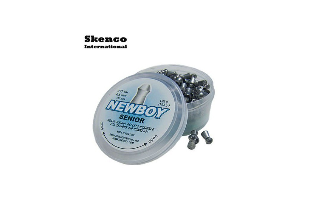 Air gun pellets SKENCO NEWBOY SR 150PCS 4.50mm (.177)