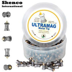 Air gun pellets SKENCO ULTRAMAG 150PCS 4.50mm (.177)