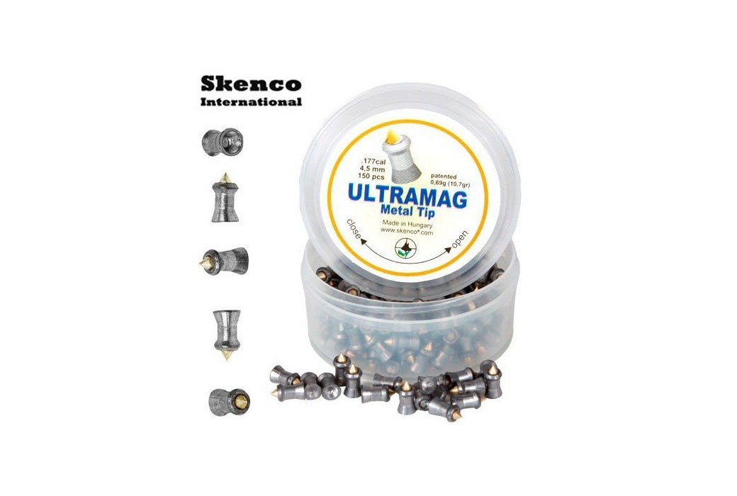 Air gun pellets SKENCO ULTRAMAG 150PCS 4.50mm (.177)