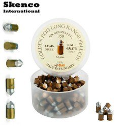 MUNITIONS SKENCO GOLDEN ROD 150PCS 4.50mm (.177)