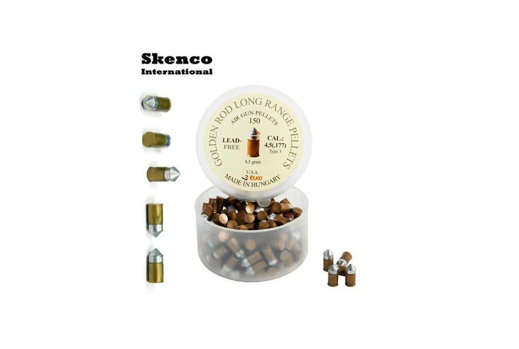 BALINES SKENCO GOLDEN ROD 150PCS 4.50mm (.177)