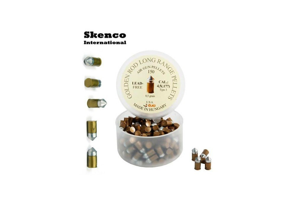 MUNITIONS SKENCO GOLDEN ROD 150PCS 4.50mm (.177)