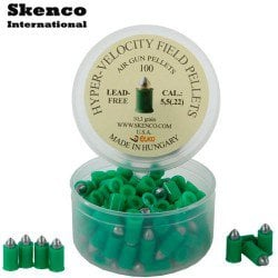 Air gun pellets SKENCO HYPER VELOCITY 100PCS 5.50mm (.22)