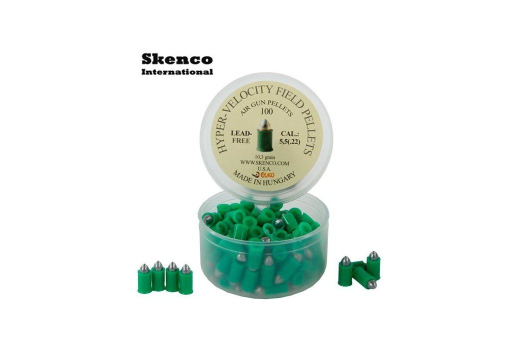 BALINES SKENCO HYPER VELOCITY 100PCS 5.50mm (.22)