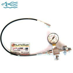 MDE DIN GAUGE AND HOSE KIT 200/300 BAR