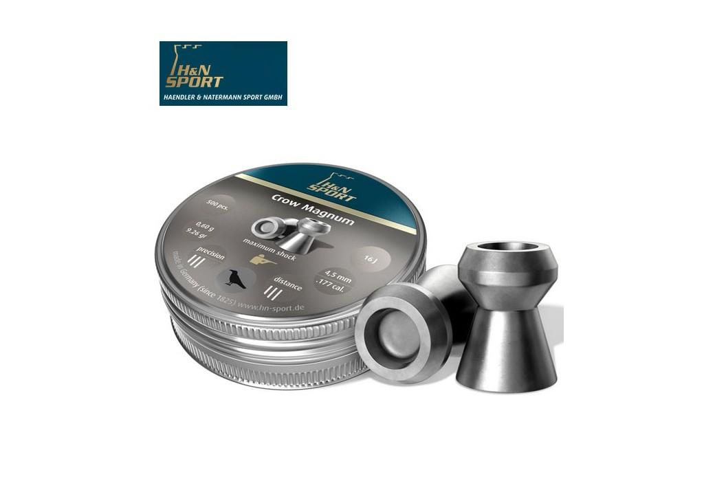 BALINES H & N CROW MAGNUM 6.35mm (.25) 200PCS