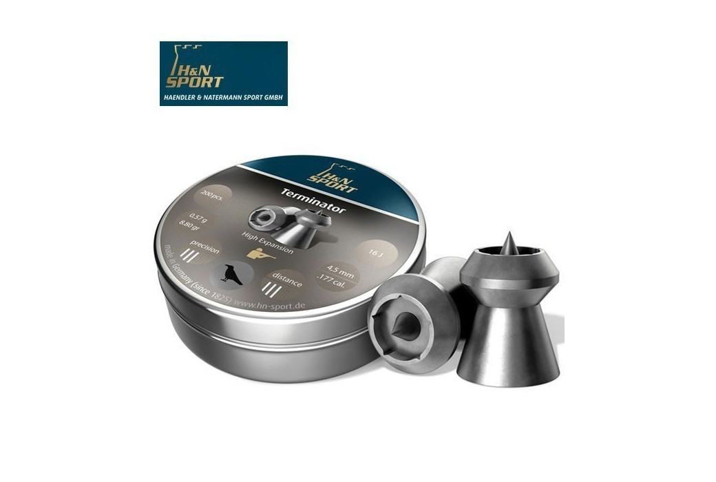 BALINES H & N TERMINATOR 5.50mm (.22) 200PCS