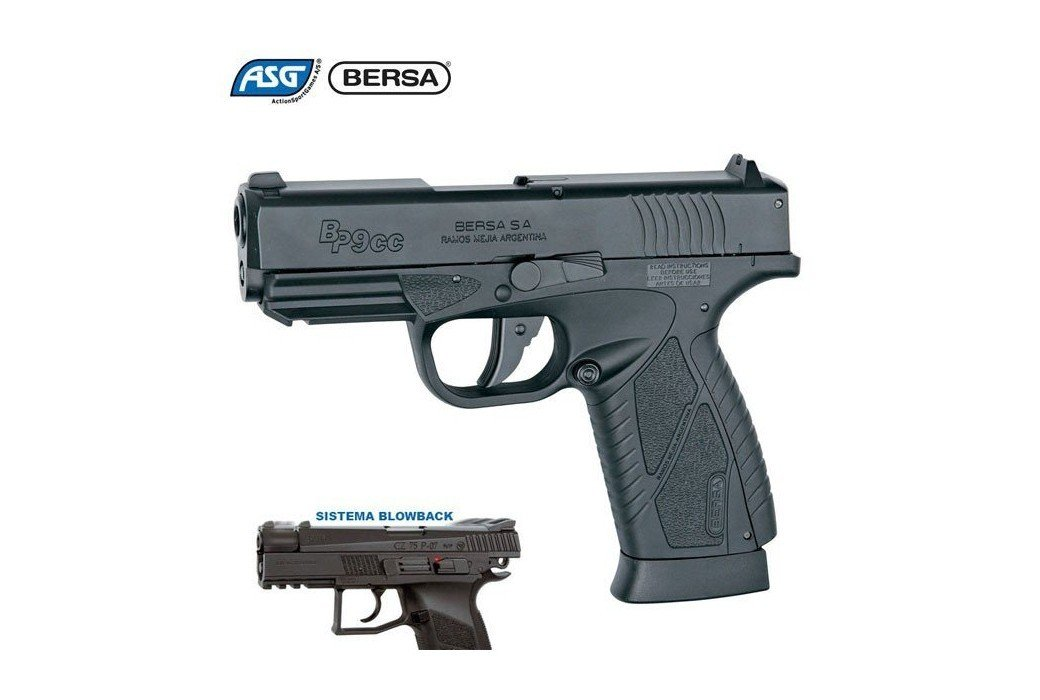 AIR PISTOLET ASG BERSA BP9CC BLOWBACK