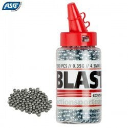 Air gun pellets ASG Round BB STEEL 1500pcs 4.50mm