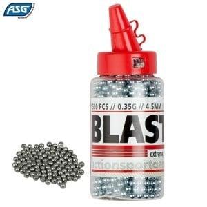 Air gun pellets ASG Round BB STEEL 1500pcs 4.50mm