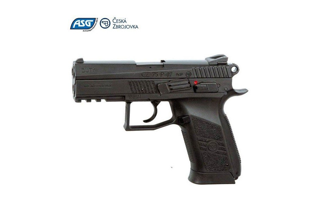 AIR PISTOLET ASG CZ 75 P07 DUTY