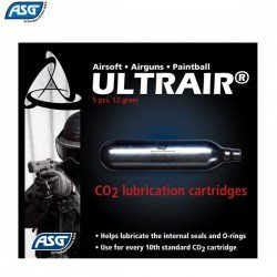 ASG ULTRAIR CO2 LUBRICATION CARTRIDGES