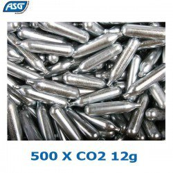 ASG BOTIJAS CO2 12G CAJA 500PCS