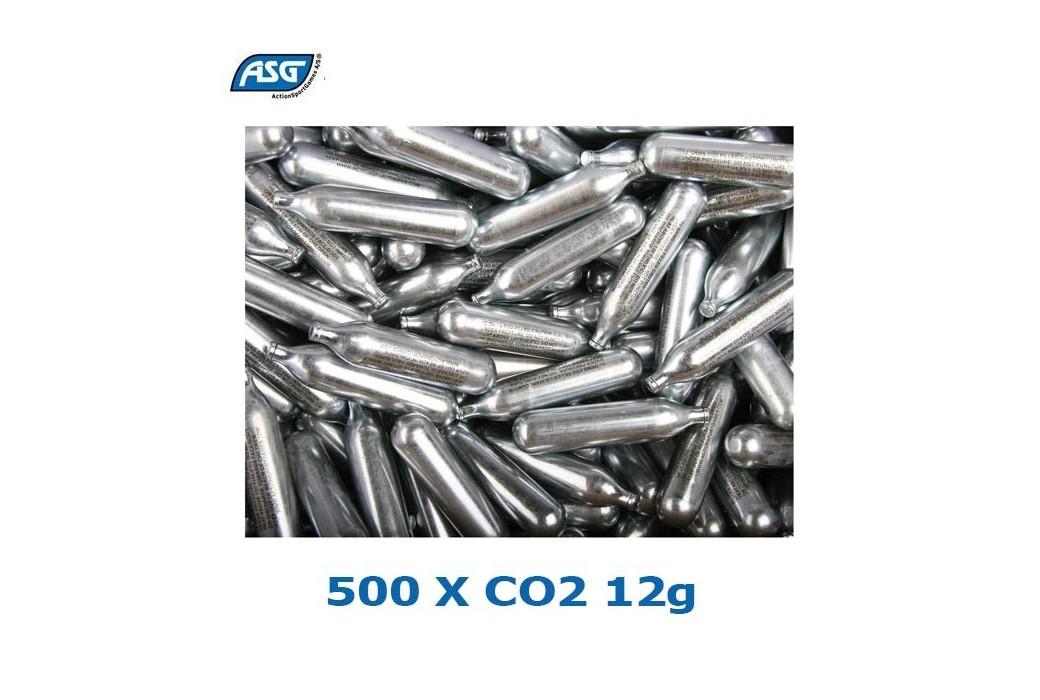 ASG CO2 12G CARTRIDGES BOX 500PCS