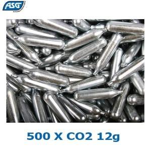 ASG BOTIJAS CO2 12G CAIXA 500PCS