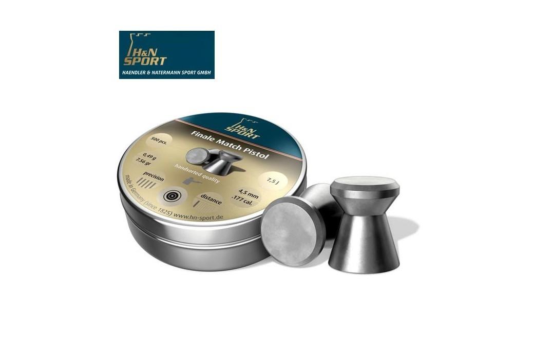 BALINES H & N FINALE MATCH PISTOL 4.49mm (.177) 500PCS