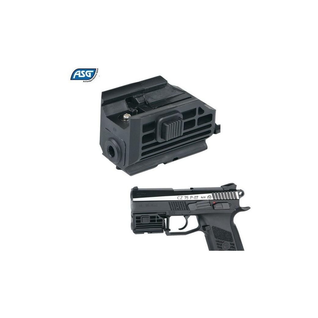 Asg Laser For Pistol Cz 75 Dutyco2 Pistols Revolversmundilar