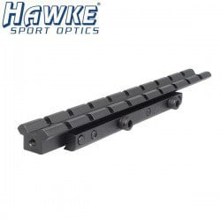 HAWKE ADAPTOR 1PC 11mm-3/8 WEAVER EXT