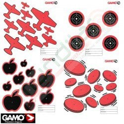 Air Gun Assorted Paper Targets 100Pcs