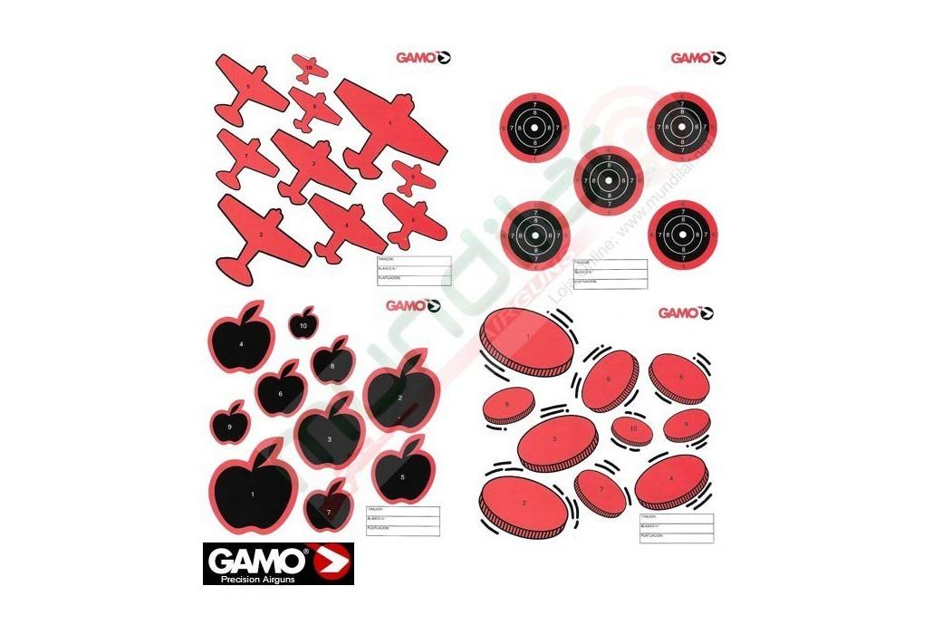 GAMO CARTON CIBLES SETS 100pcs