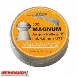 BALINES WEIHRAUCH MAGNUM 4.50mm (.177) 500PCS