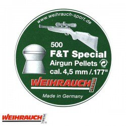 BALINES WEIHRAUCH FIELD TARGET SPECIAL 4.50mm (.177) 500PCS