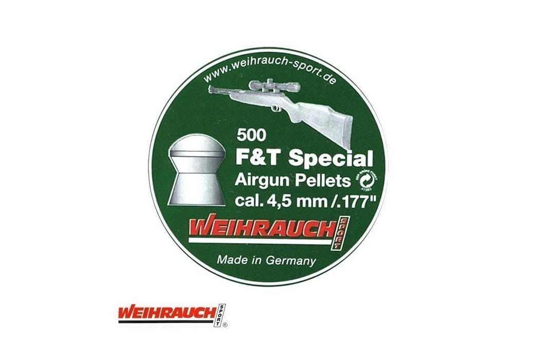 MUNITIONS WEIHRAUCH FIELD TARGET SPECIAL 4.50mm (.177) 500PCS