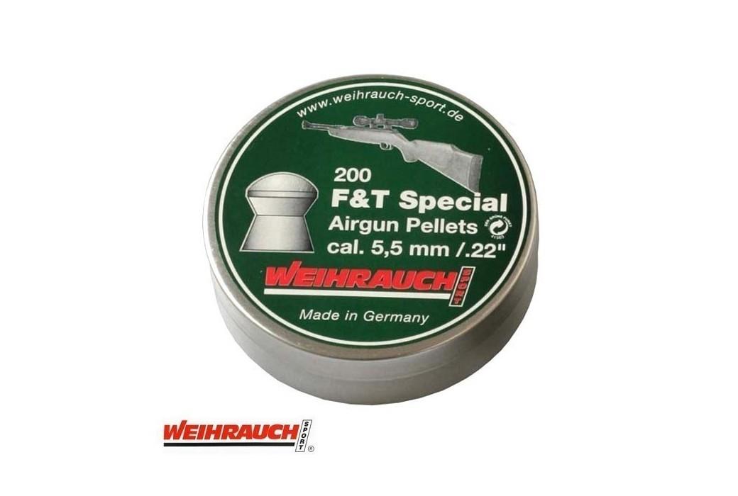 Air gun pellets WEIHRAUCH FIELD TARGET SPECIAL 5.50mm (.22) 200PCS