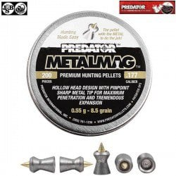 MUNITIONS JSB PREDATOR METALMAG 200pcs 4.50mm (.177)