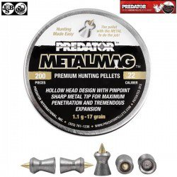 CHUMBO JSB PREDATOR METALMAG 200pcs 5.50mm (.22)