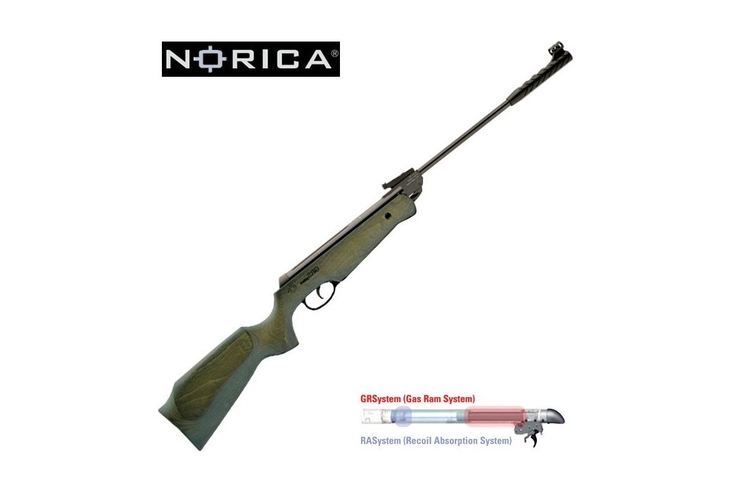 CARABINE À PLOMB NORICA THOR GRS SUPREME GREEN