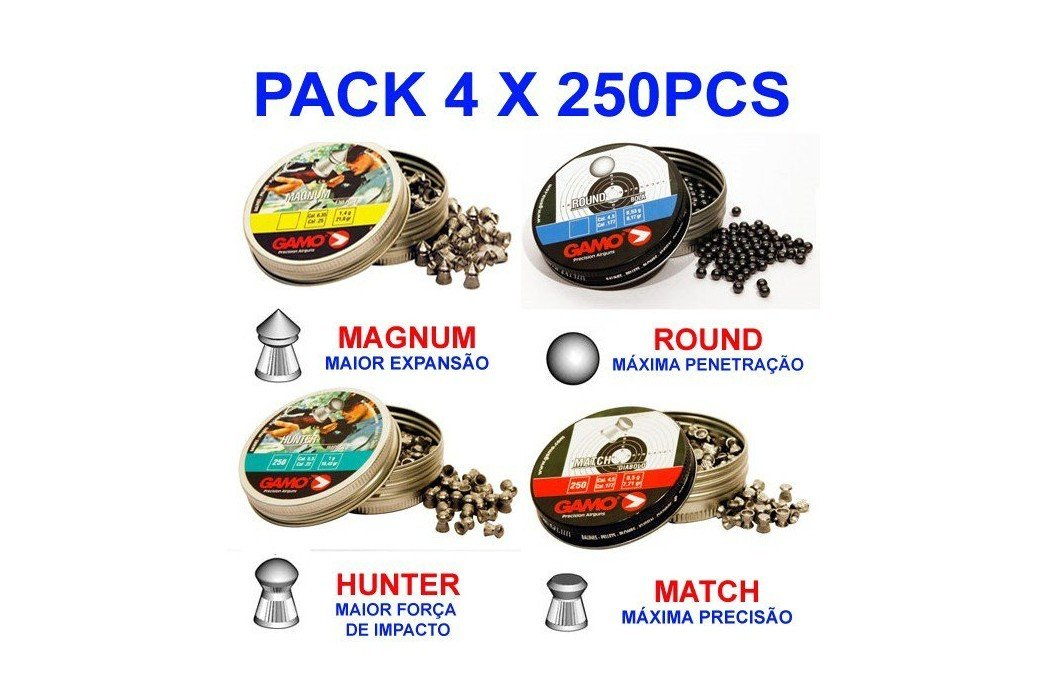 Gamo Match 500 Pcs 4,5mm (.177)