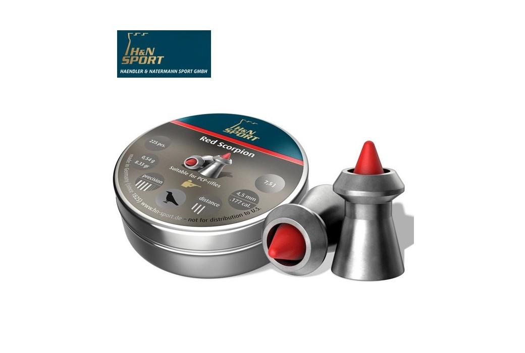 CHUMBO H & N RED SCORPION 4.50mm (.177) 225PCS