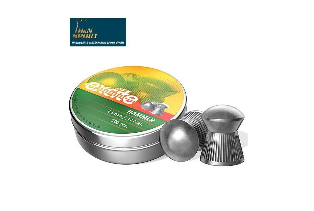 CHUMBO H & N EXCITE HAMMER 4.50mm (.177) 500PCS