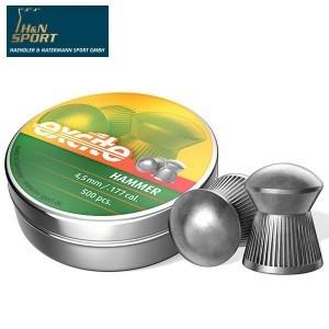 BALINES H & N EXCITE HAMMER 4.50mm (.177) 500PCS
