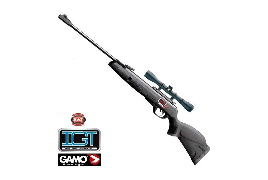 AIR RIFLE GAMO BLACK KNIGHT IGT MACH 1