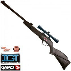 AIR RIFLE GAMO BLACK FUSION IGT MACH 1
