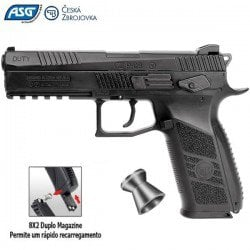 AIR PISTOL ASG CZ P-09 DUTY BLOWBACK