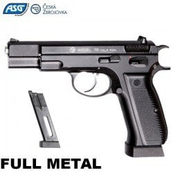 AIR PISTOLET ASG CZ 75 BLOWBACK FULL METAL