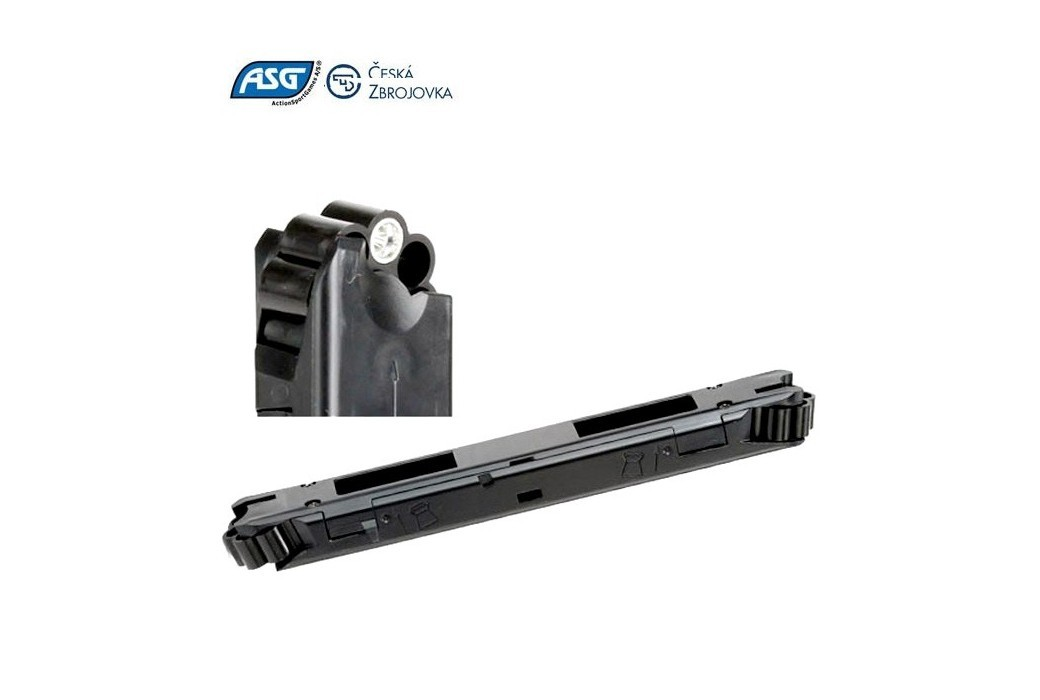 MAGAZINE P/ ASG CZ P-09 DUTY BLOWBACK