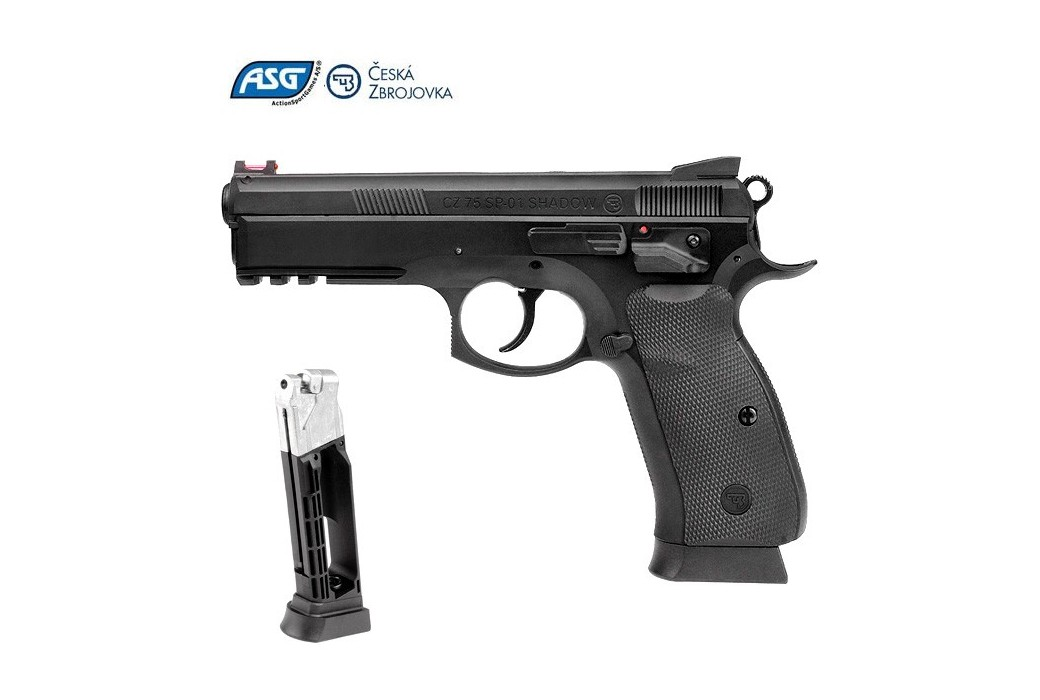 AIR PISTOLET ASG CZ SP-01 SHADOW