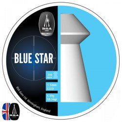 Air gun pellets BSA BLUE STAR 250 pcs 5.50mm (.22)